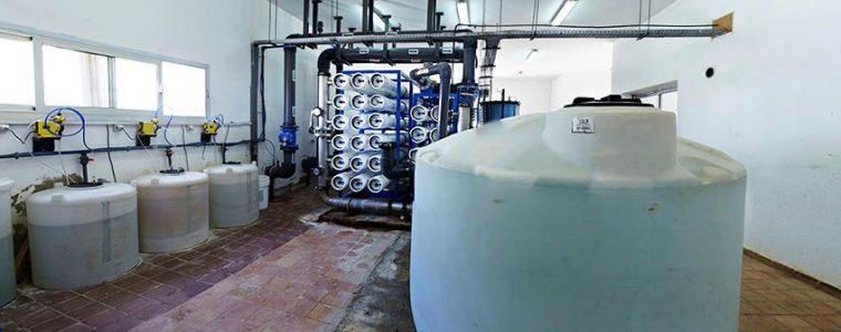 تصفیه نهایی آب در دستگاه تصفیه آب صنعتی